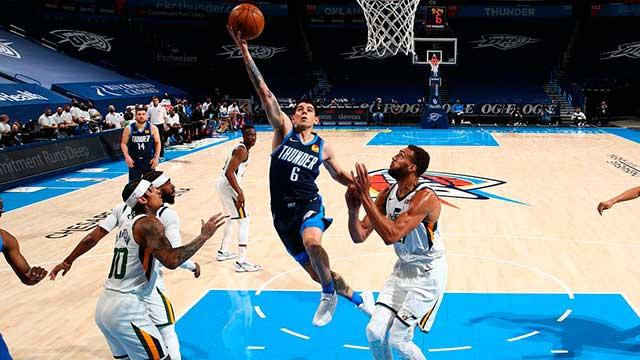 NBA: Deck marcó su récord personal de puntos en el penúltimo partido de Oklahoma