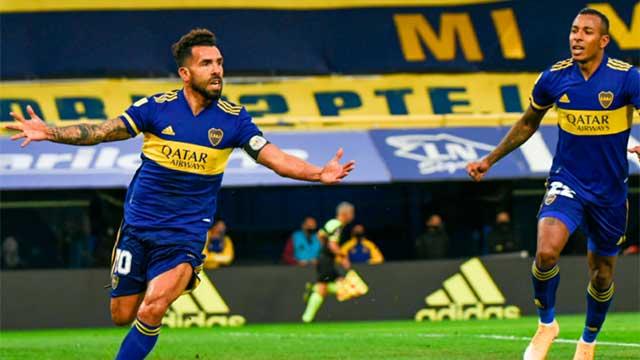 """""""River es un rival muy duro a vencer y por suerte pudimos"""", dijo Carlitos."""