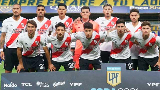 Mas casos de COVID-19 en River y hay preocupación por el partido de la Libertadores