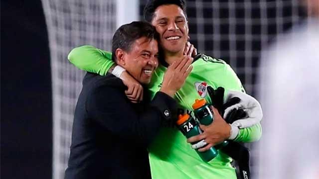 """""""No caigo mucho en lo que hemos pasado"""", dijo Enzo Pérez."""