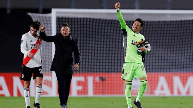 El Muñeco elogió a sus jugadores tras la victoria por 2-1.