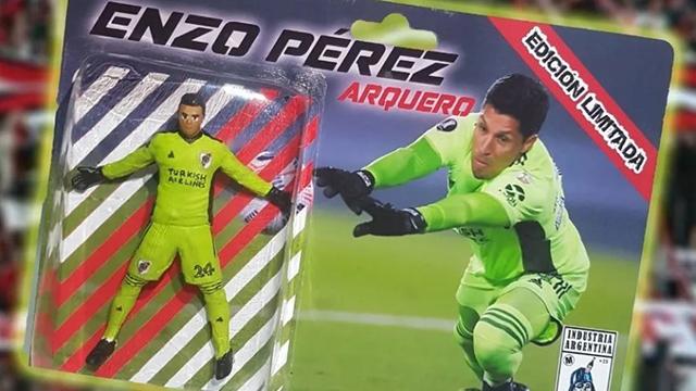 Después del triunfo, se desató la locura por Enzo Pérez.