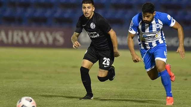 Ya eliminado, San Lorenzo goleó a 12 de Octubre y ayudó a Central.