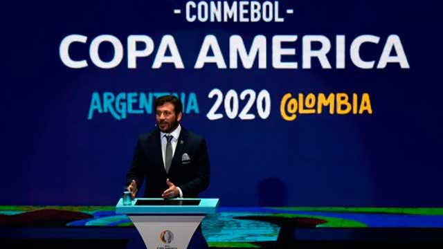 Conmebol rechazó el pedido de aplazamiento y Colombia no será sede.