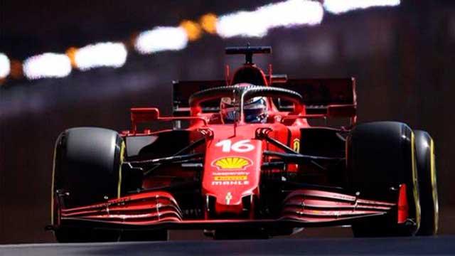 Pole y accidente para Charles Leclerc en el Gran Premio de Mónaco.