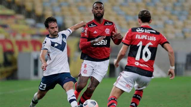 Vélez cerró el grupo sin goles ante Flamengo y fue segundo en su grupo.