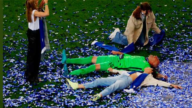 Willy se dio el gusto de conquistar los títulos más importes de la UEFA.