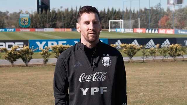 """""""Estamos ilusionados y queremos seguir creciendo"""", dijo Messi."""