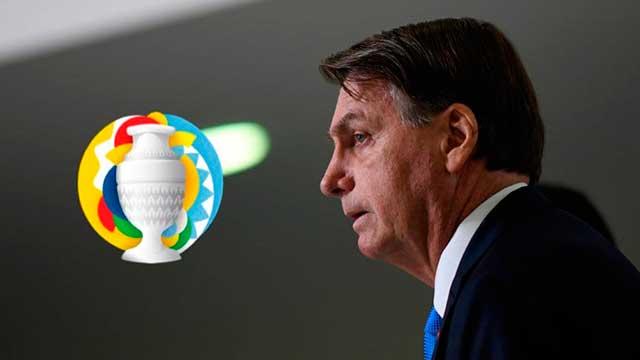 Bolsonaro confirmó a Brasil como sede de la Copa América.