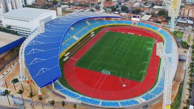 Estadio Mané Garrincha, sede de la Copa América.
