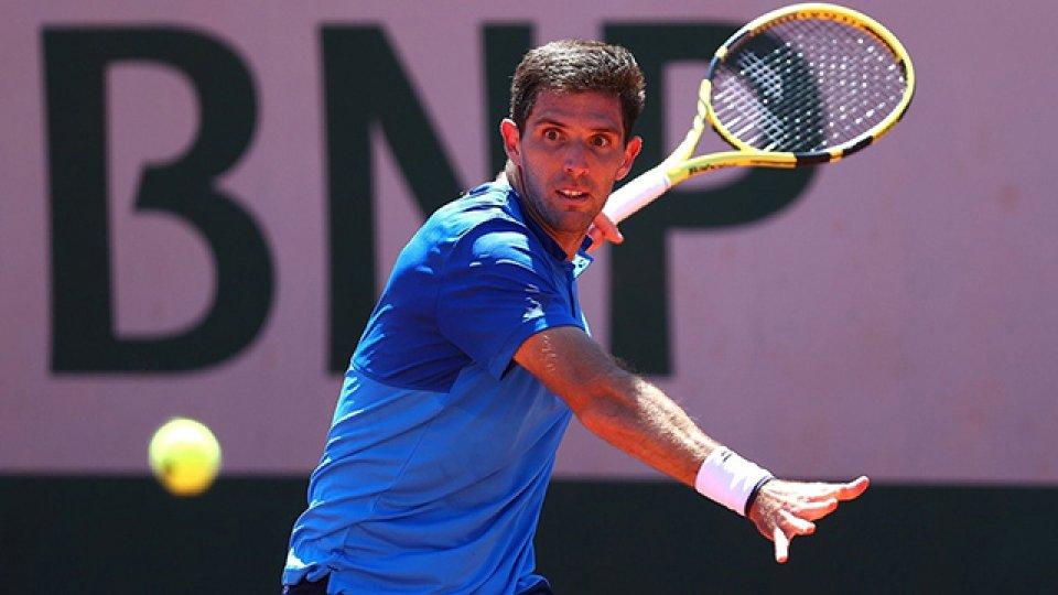 Delbonis avanzó a la tercera ronda de Roland Garros por primera vez.