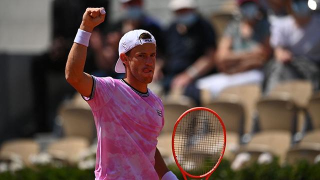 Schwartzman ya está en cuartos de Roland Garros.