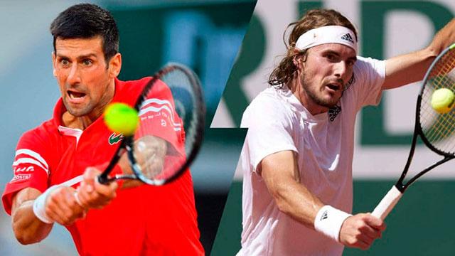 Djokovic y Tsitsipas definen Roland Garros 2021.