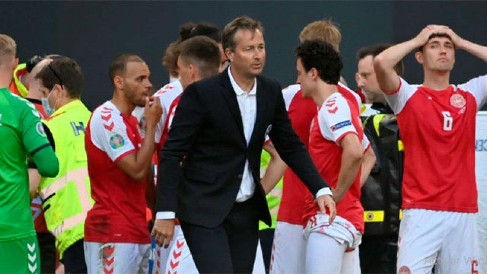 Kasper Hjulmand, entrenador del seleccionado danés.