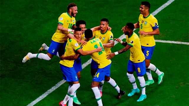 Brasil le gana a Venezuela en el partido inaugural de la Copa América