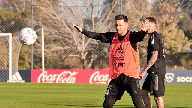 """Messi habló antes del estreno de la Selección: """"Es el momento de dar el golpe"""""""