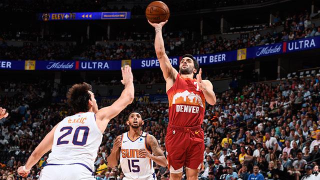 Los Nuggets de Campazzo quedaron eliminados en la NBA.