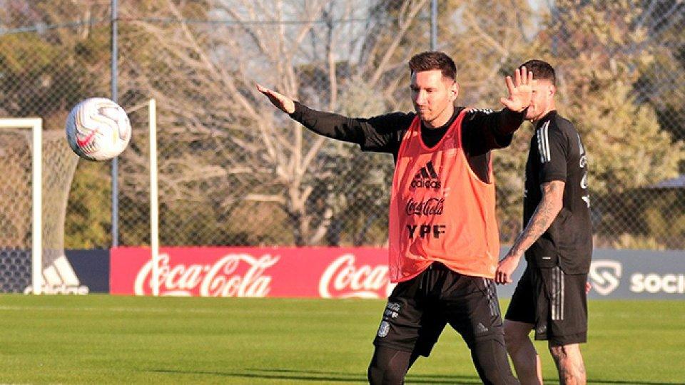 Habló Messi, antes del debut de la Selección.