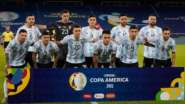 Copa América: Cómo quedó la tabla del grupo de Argentina y cuándo vuelve a jugar