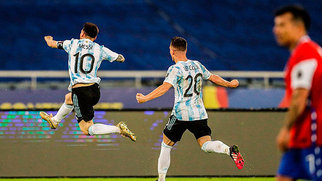 Lionel Messi rompió tres nuevos récords.
