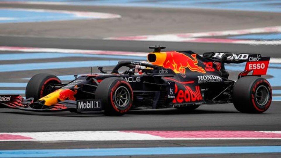 Verstappen logró la pole en el Gran Premio de Francia de Fórmula 1.