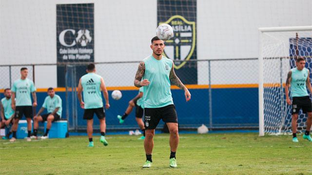 Última práctica de la Selección Argentina de cara al duelo ante Paraguay