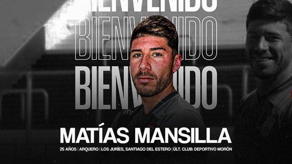 Matías Mansilla es el nuevo arquero de Patrón.