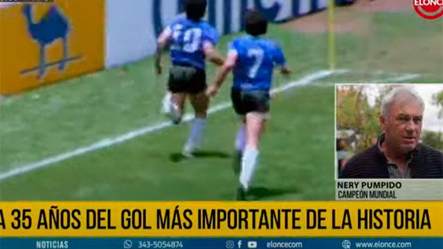 """Nery Pumpido y el recuerdo del gol de Maradona a los ingleses: """"Soy un privilegiado"""""""
