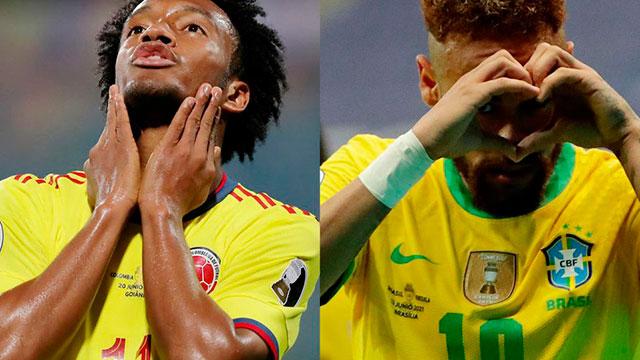 Brasil-Colombia, el choque destacado de una nueva jornada de la Copa América