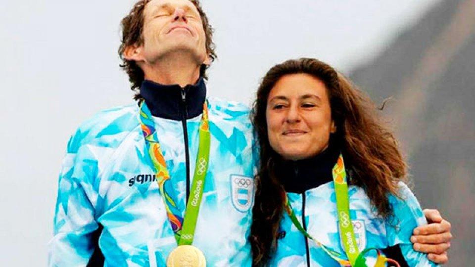 Santiago Lange y Cecilia Carranza serán los abanderados argentinos.