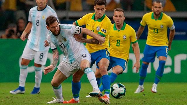 Copa América 2021: Argentina y Brasil solo se cruzarían en una hipotética final