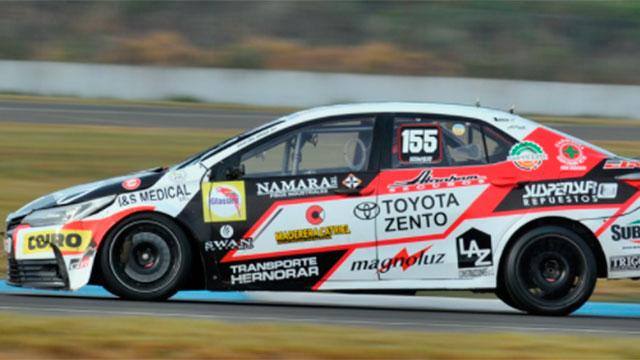 Gastón Iansa cantó victoria en el TN en Concordia.