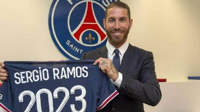 """Estoy orgulloso de integrar un equipo con grandes jugadores"", expresó Ramos."