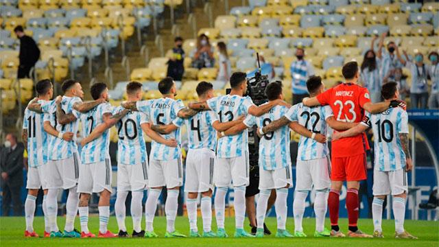 Argentina, Campeón de América.