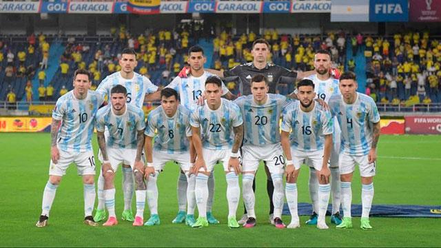 Los 4 argentinos que fueron elegidos en el Equipo Ideal de la Copa América 2021.