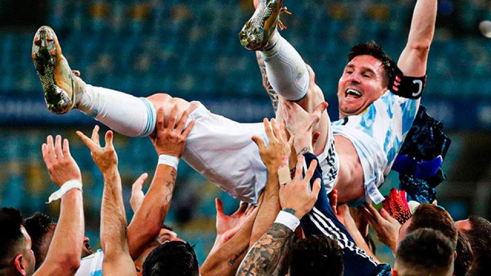 """""""Messiento campeón"""": el emocionante video de la Selección Argentina."""