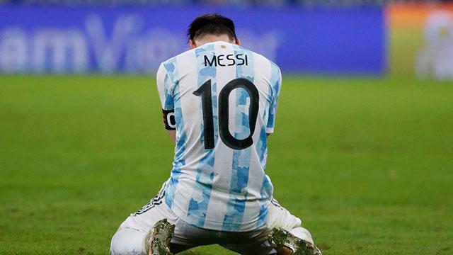 """""""Se lo dedicamos a todos..."""", el nuevo video de Lionel Messi en el Maracaná."""