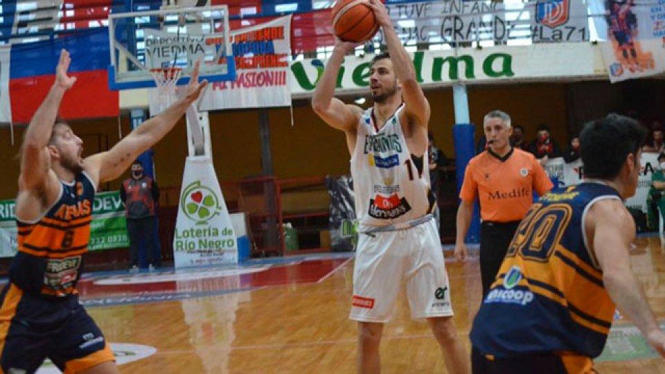 Estudiantes de Concordia es semifinalista de la Liga Argentina de Básquet.