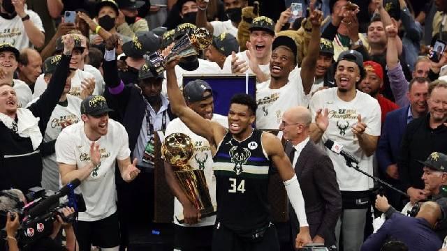 Después de 50 años, los Bucks vuelven a ganar un anillo dela NBA.
