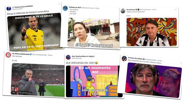 Los mejores memes de Boca - Mineiro.