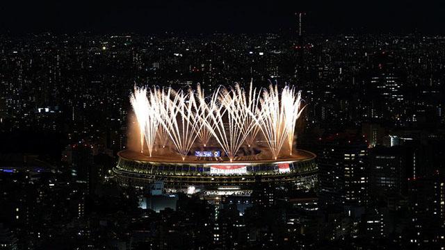 Las mejores fotos de la ceremonia inaugural.