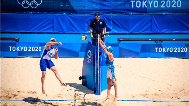 Juegos Olímpicos: El Beach Voley comenzó con derrotas para los entrerrianos Azaad y Gallay