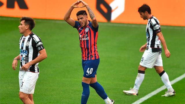 San Lorenzo sufrió pero le ganó 1-0 a Central Córdoba por la Liga Profesional.