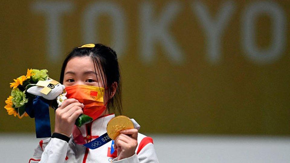 China logró la primera medalla de los Juegos de Tokio 2020.