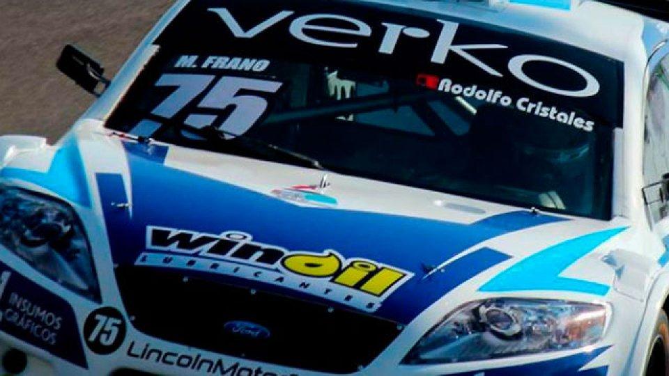 Matías Frano se quedó con la carrera sprint del Top Race en San Nicolás.