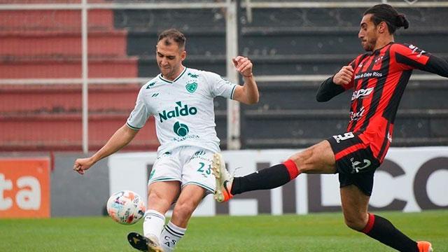 Sosa Sánchez marcó el gol de Patrón. (Foto: Prensa Sarmiento Junín).