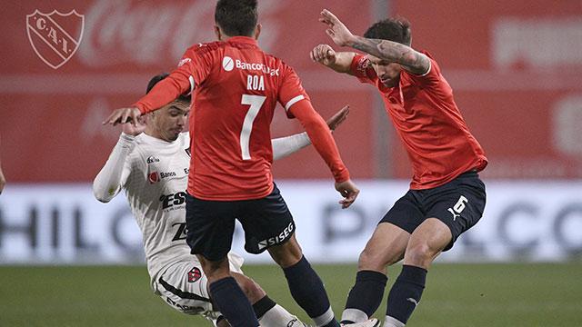 El Rojo terminó con la racha positiva del Patrón de Entre Ríos.