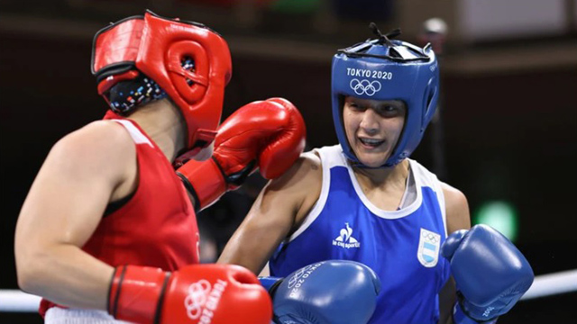 Dayana Sánchez cayó en su combate olímpico.