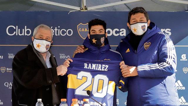 Juan Ramírez, la nueva cara de Boca.