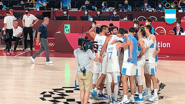 La Selección de Básquet venció con claridad a Japón y está en cuartos.